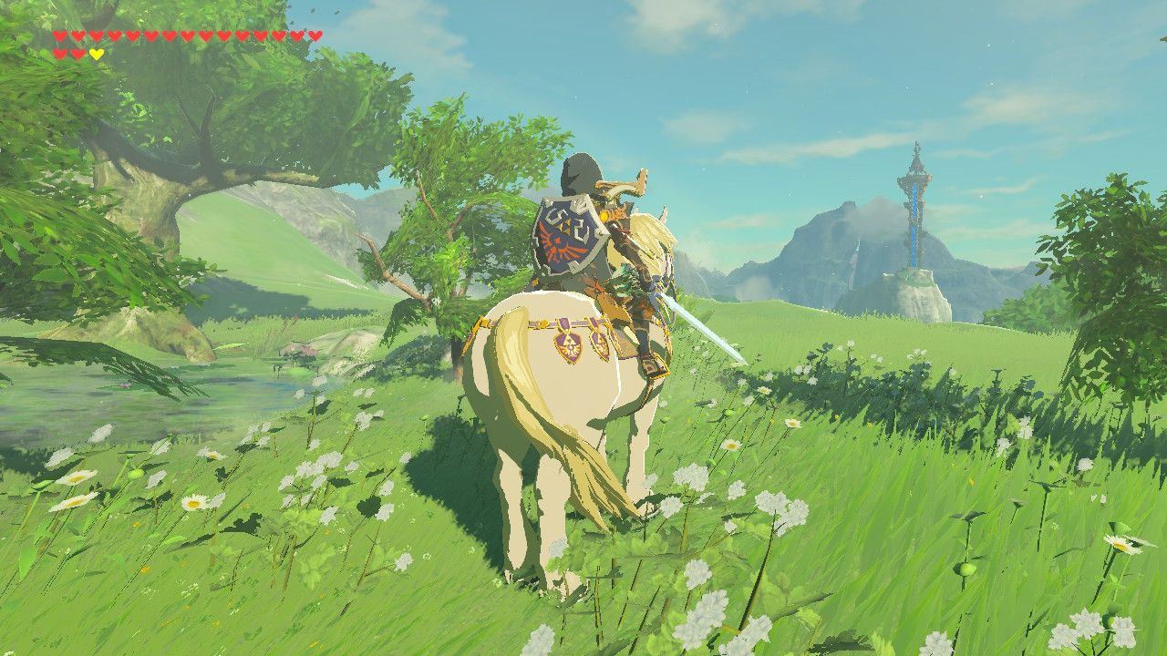 The Legend of Zelda: Breath of the Wild and First Generation Promise